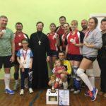 Победа в волейбольном турнире команды храма свт. Николая Чудотворца